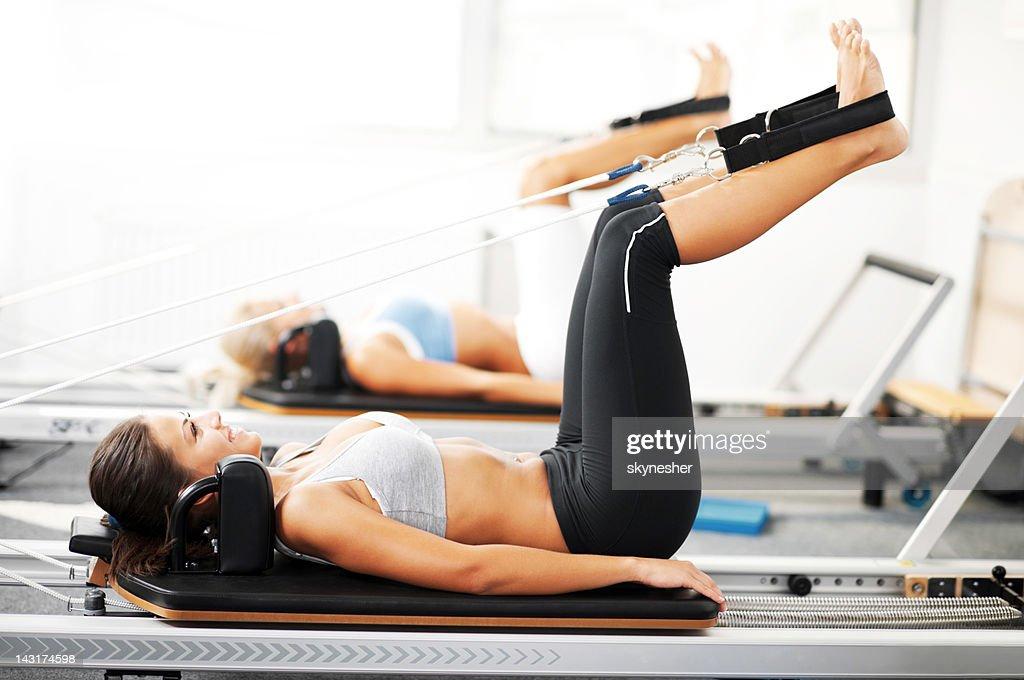Pilates. : Stock Photo