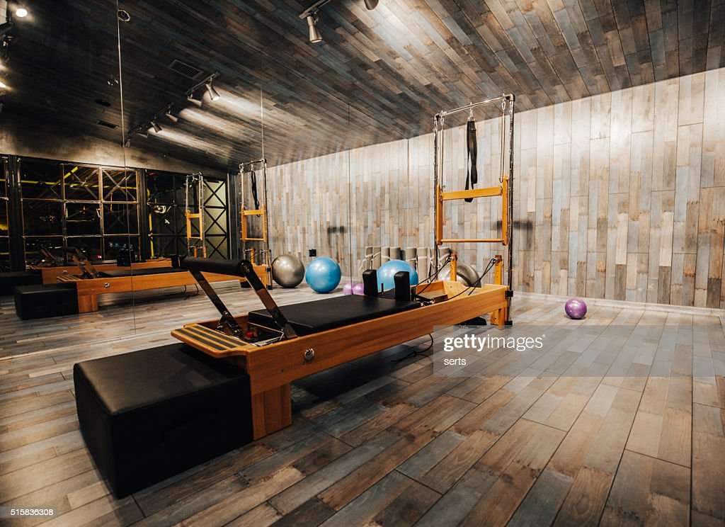 Pilates Room In Health Club Stock Photo | Getty Images
