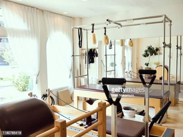 pilates studio - maebashi city stock photos and pictures
