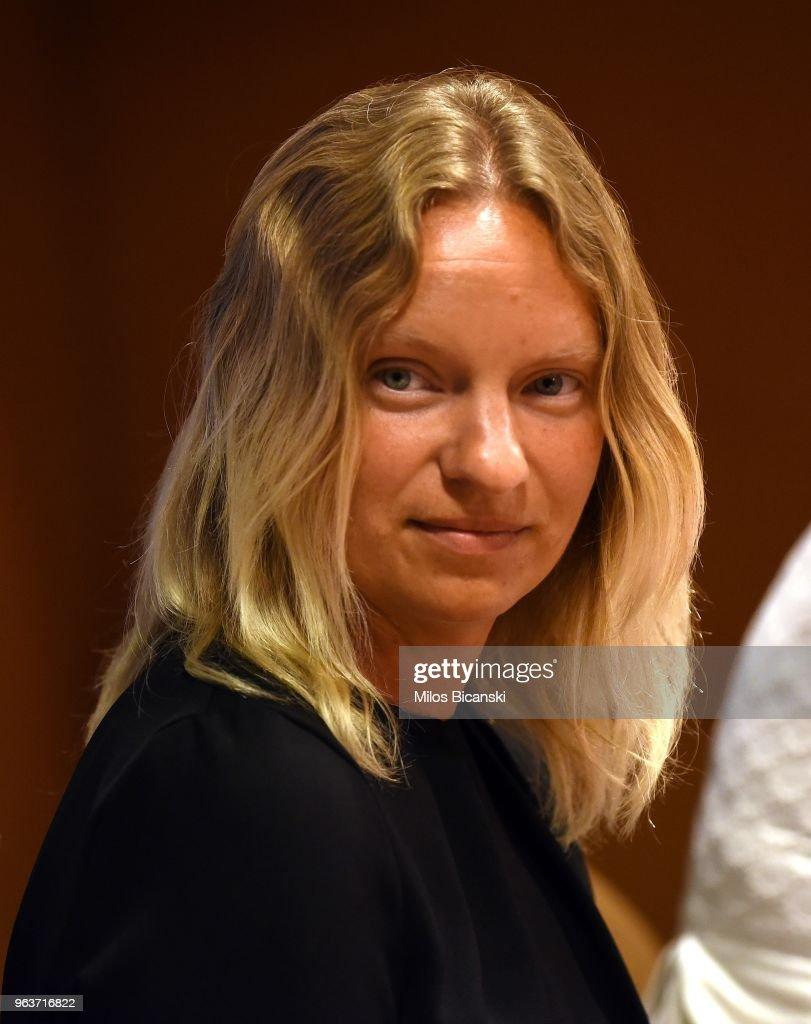 Pilatus Bank Whistleblower Maria Efimova Talks To Greek Journalists : News Photo