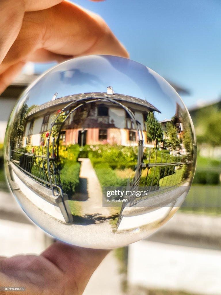 Pilatushaus (Pilato house) - Oberammergau : Foto stock