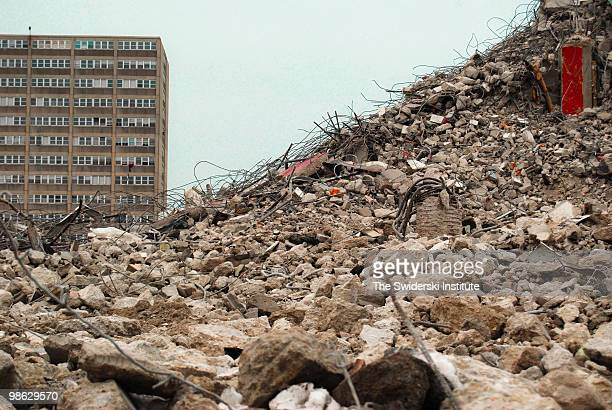 pile detail - rubble stock pictures, royalty-free photos & images