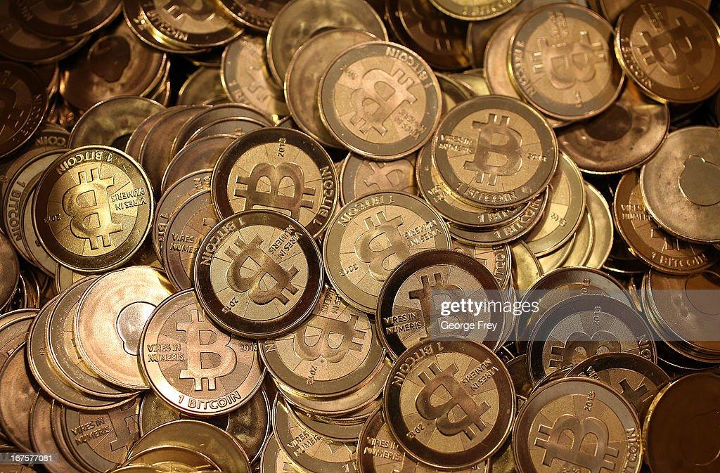 Utah Software Engineer Mints Physical Bitcoins : News Photo