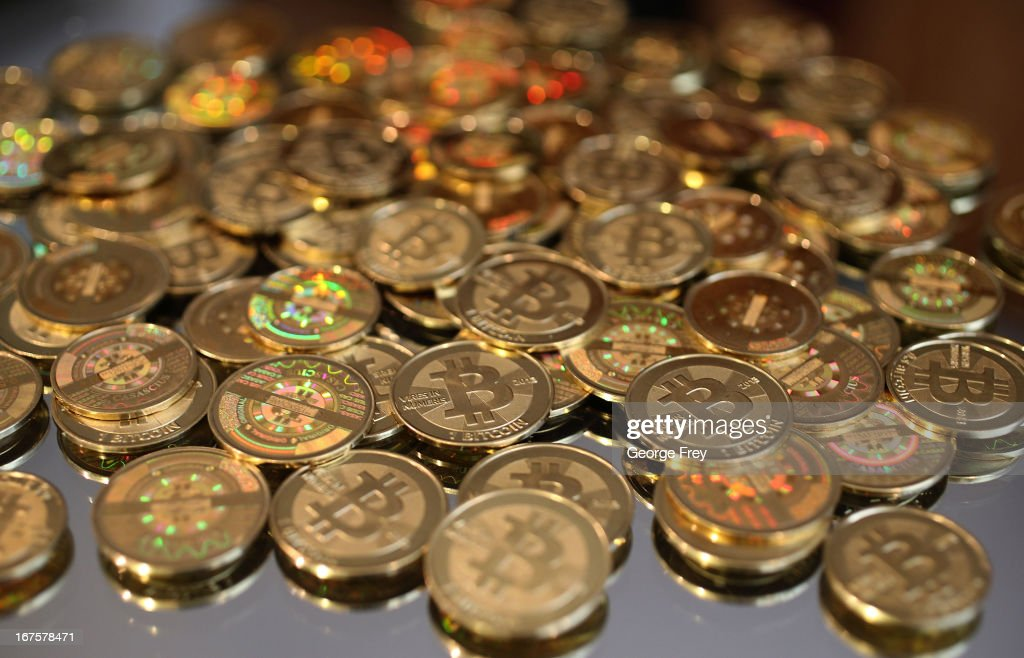 Utah Software Engineer Mints Physical Bitcoins : News Photo