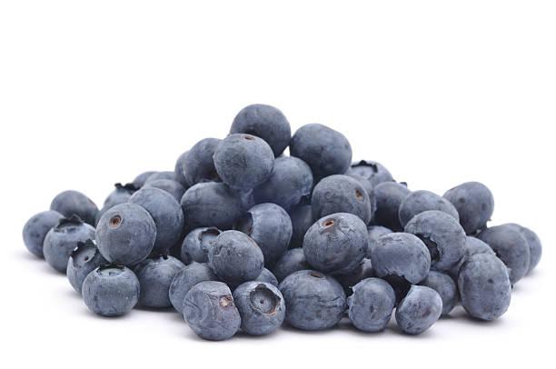 pile of blueberries - 藍莓 個照片及圖片檔