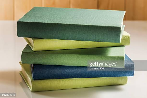 Pile of books.