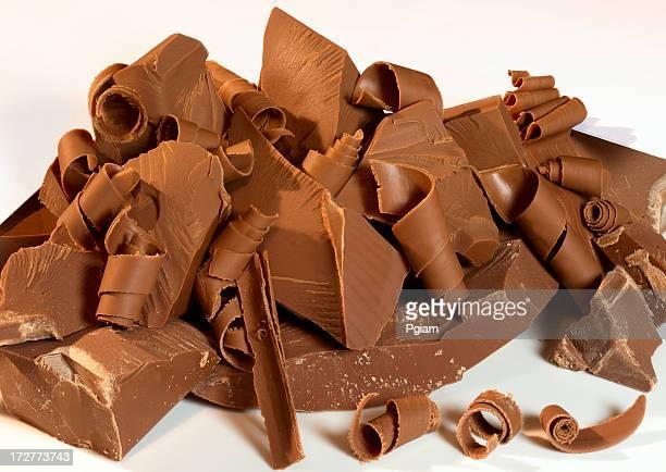 パイルチョコレートの削り屑