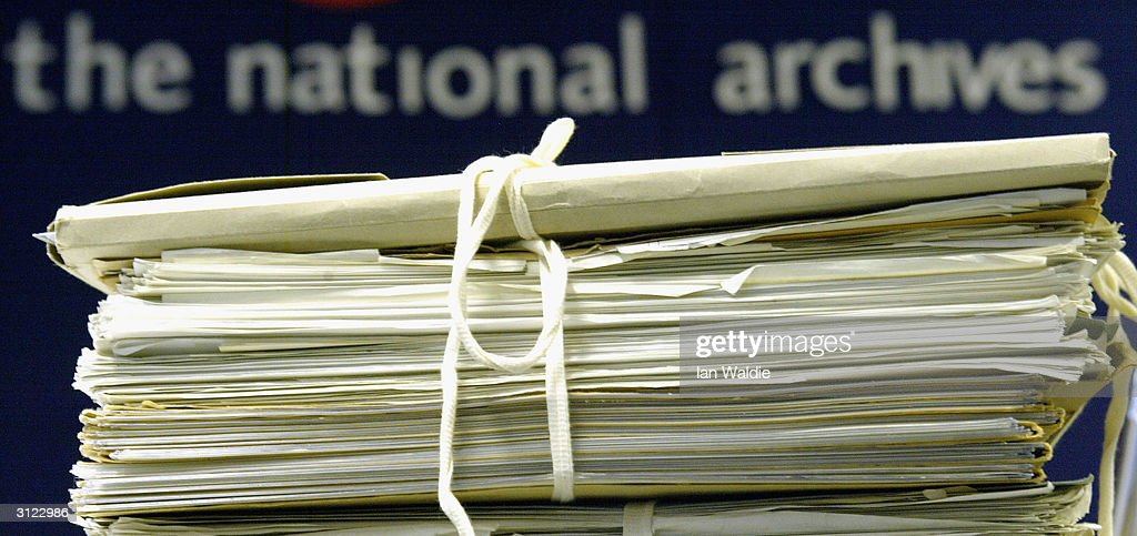 Britain National Archives Releases Classified Documents : News Photo