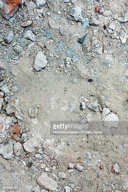 Pile of construction rubble