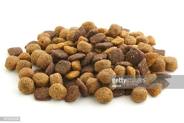 pile of dry dog food