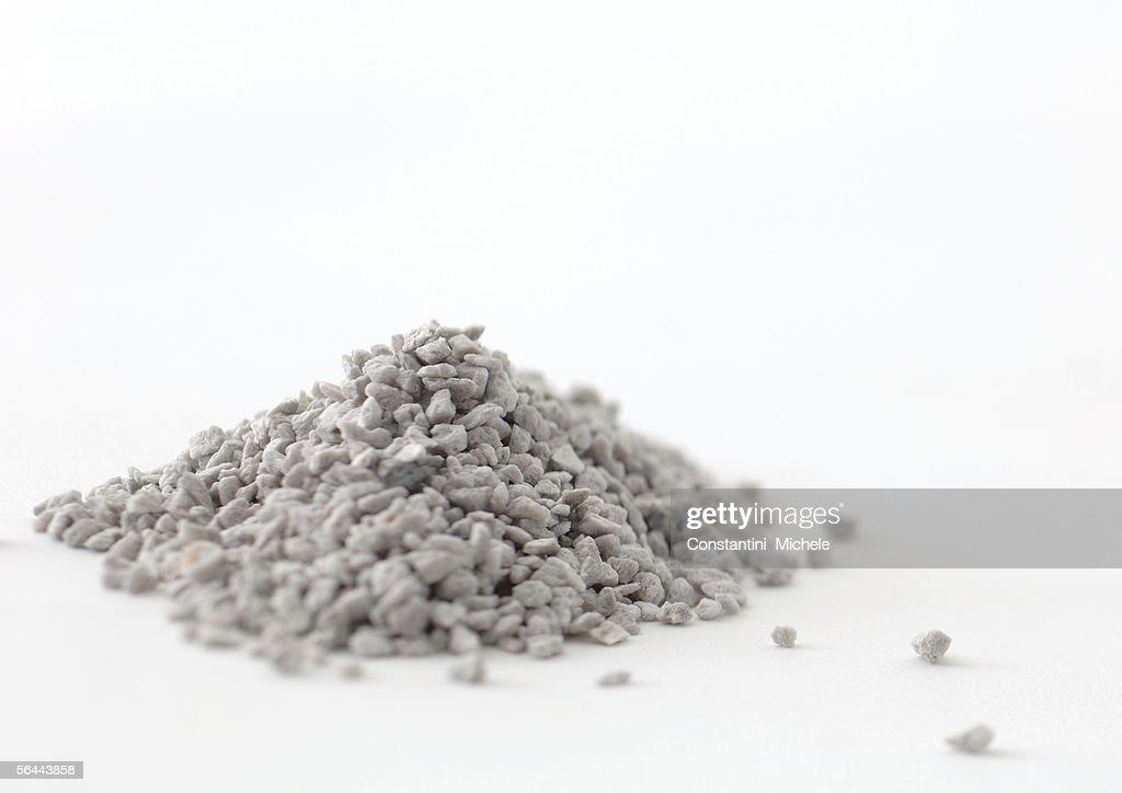 Pile of gravel : Stock Photo