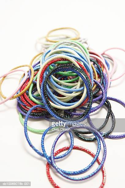 Pile of hair bands