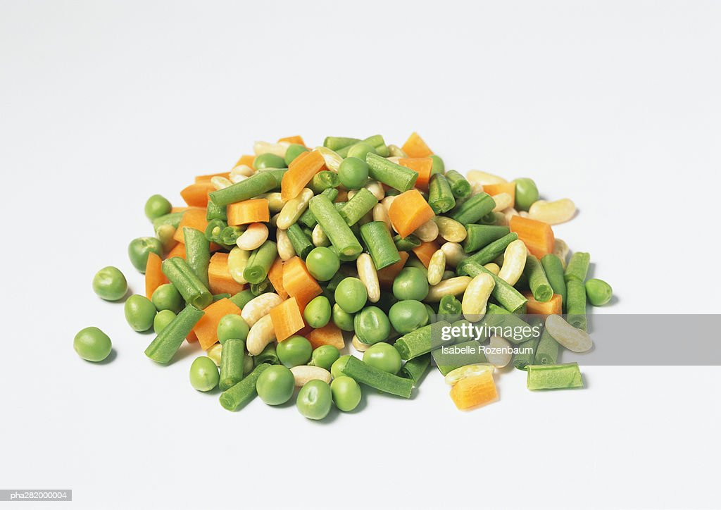 Pile of mixed vegetables : Stockfoto