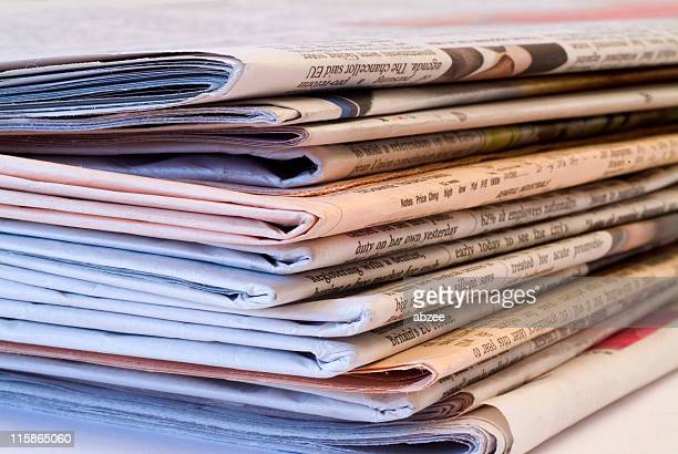 Pile of newspapers 04