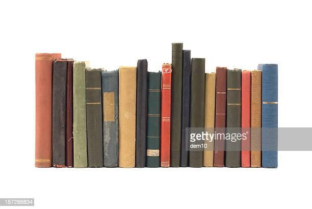 Pilha de velhos livros antigo