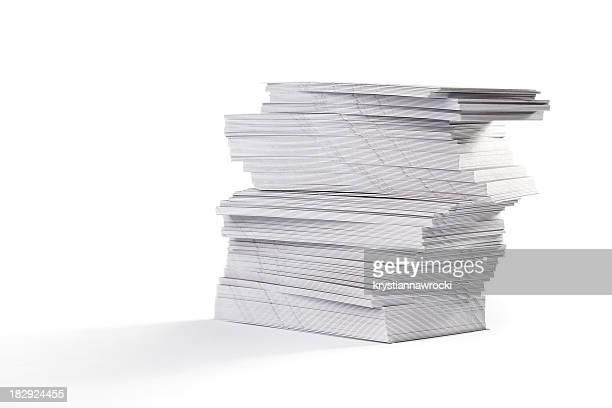 Haufen von Papier