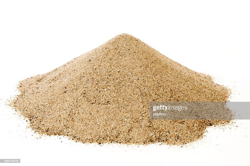Pila de arena : Foto de stock