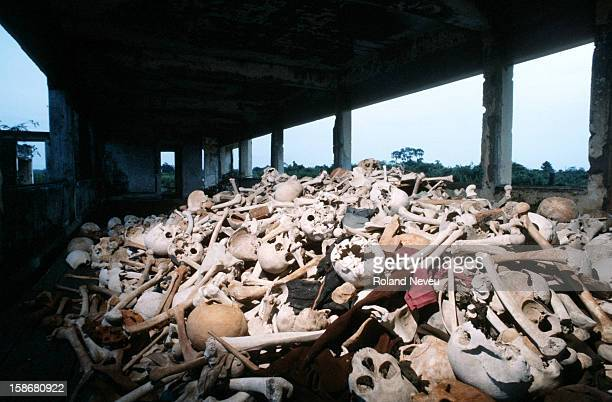 A pile of skulls discovered whilst on a trip to Angkor provides a grim reminder of the horror of the Khmer Rouge regime As many as two million people...