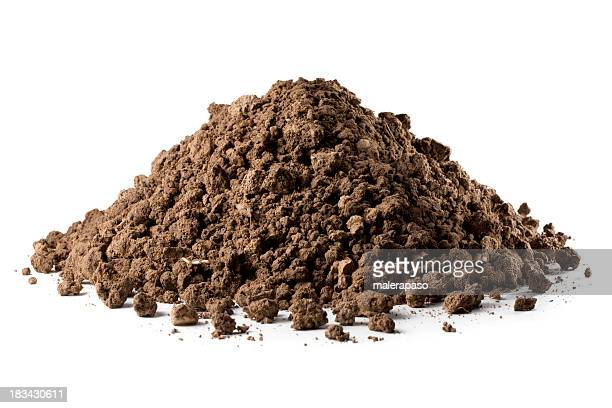 pile of soil - dirt stock pictures, royalty-free photos & images