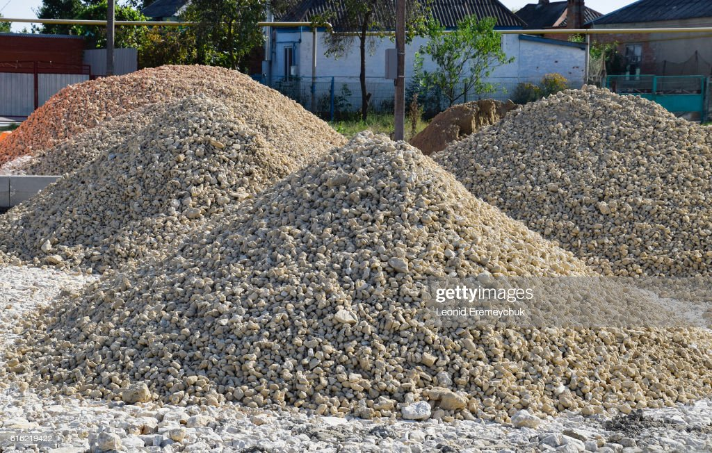 pile of stones shell : Stockfoto