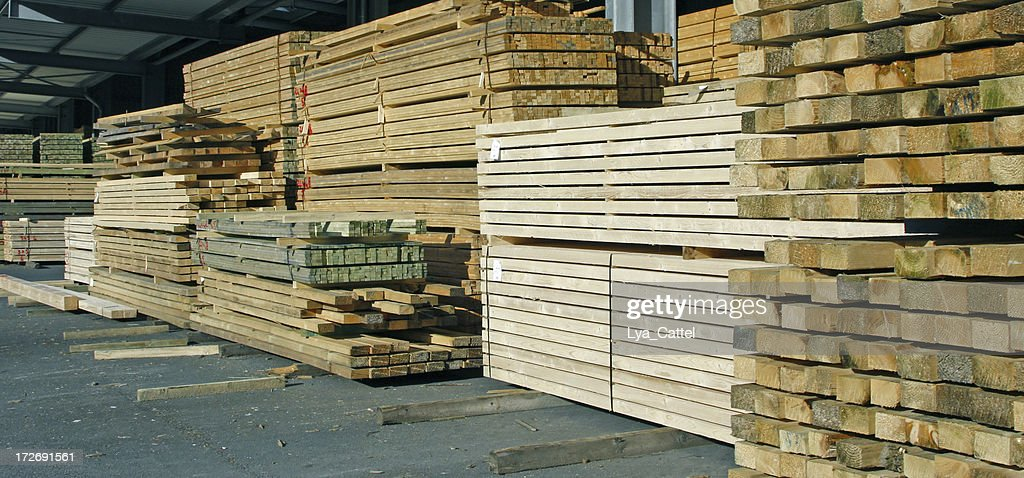 Pile of wood # 10 : Stock Photo