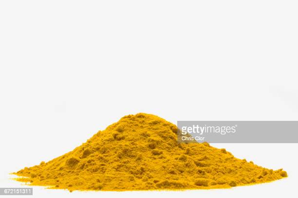 Pile of yellow powder