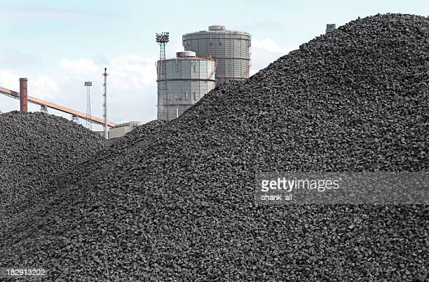 piles of coking coal