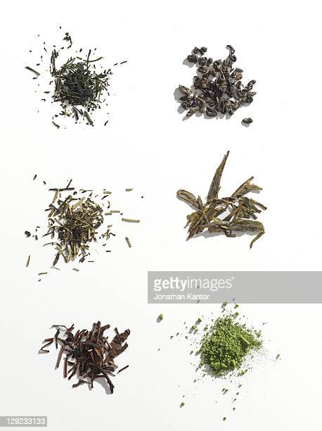 Piles of Tea Leaves
