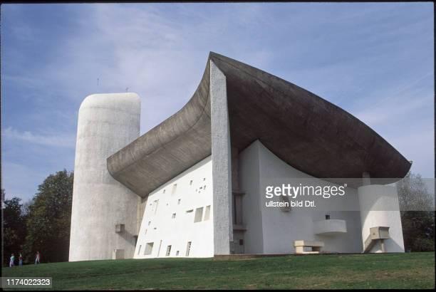 """Pilgrimage church """"Notre-Dame-du-Haut"""", Ronchamp 1990"""