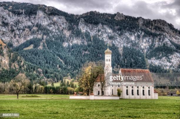 Pilgrimage Church of St. Coloman in Schwangau, Germany