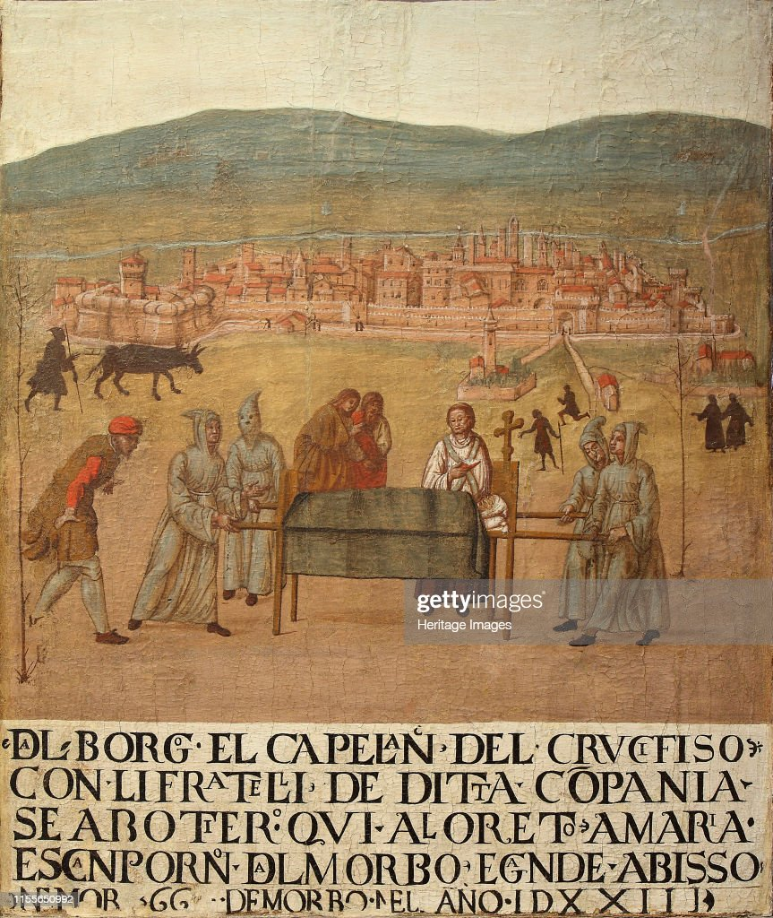 Pilgrimage Of The Compagnia Del Crocifisso To Loreto : News Photo