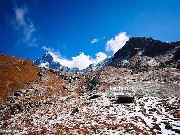 Pilgrimage route to Khayer Lake, Nepal Himalaya