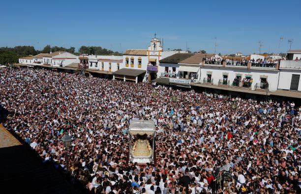 """ESP: """"El Rocio"""" Festivity In Huelva"""