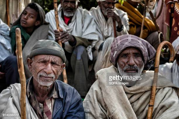 Pilgrims in Lalibela During the first days of January thousands of Ethiopian Orthodox Christian pilgrims go to the city of Lalibela to visit the New...