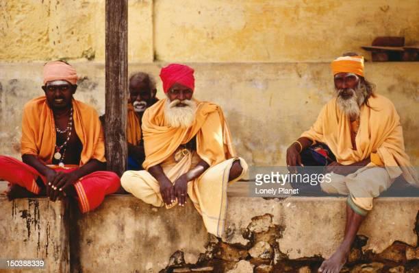 Pilgrims in Ramannathaswamy Temple - Rameswaram, Tamil Nadu
