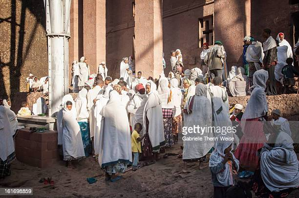 pilgrims, lalibela - ceremony stock pictures, royalty-free photos & images