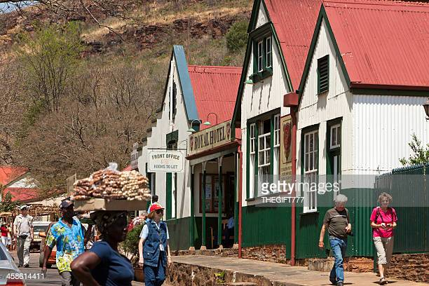 pilgrims rest - royal hotel - mpumalanga province stock pictures, royalty-free photos & images