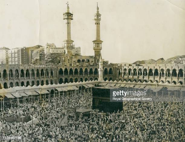 Pilgrims surrounding the Kaaba Mecca Gerald de Gaury was a British military officer he was the British political agent in Kuwait during the 1930s...