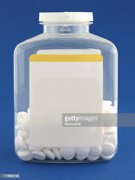 pill bottle - aspirin stock pictures, royalty-free photos & images