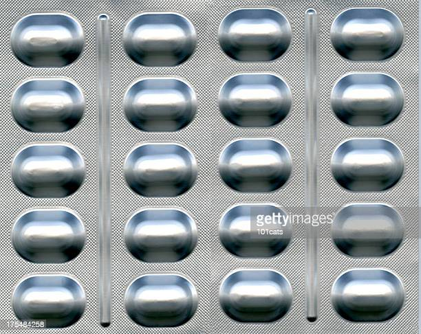pill package - blister pack stock pictures, royalty-free photos & images