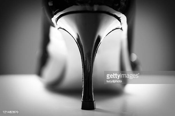 pillar of style - high heels stock pictures, royalty-free photos & images