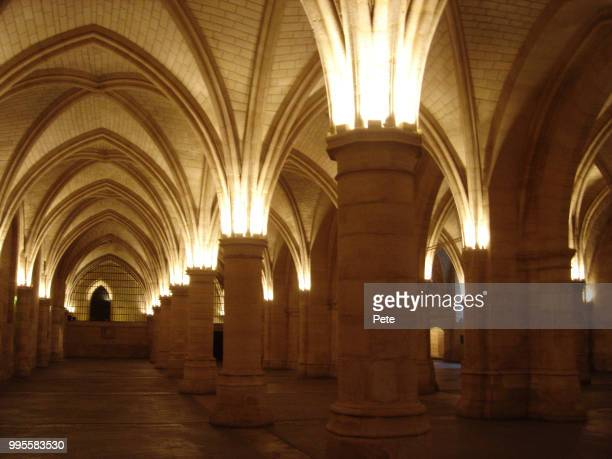 pillars - gothic style stock pictures, royalty-free photos & images
