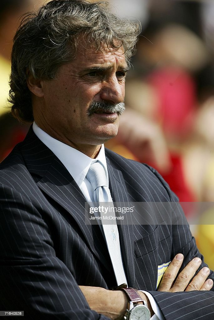Pillon Giuseppe of Chievo looks on during the pre-season match between Watford and Chievo Verona at Vicarage Road on August 13, 2006 in Watford, England.