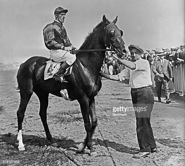 Pillory to Run in Latonia Special Elmont Long Island New York Here is RT Wilson's Pillory with jockey Miller in the saddle pictured after his...
