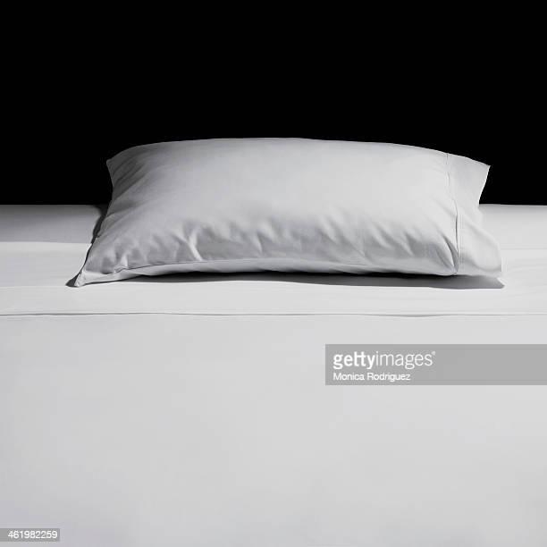 Pillow and crisp sheet