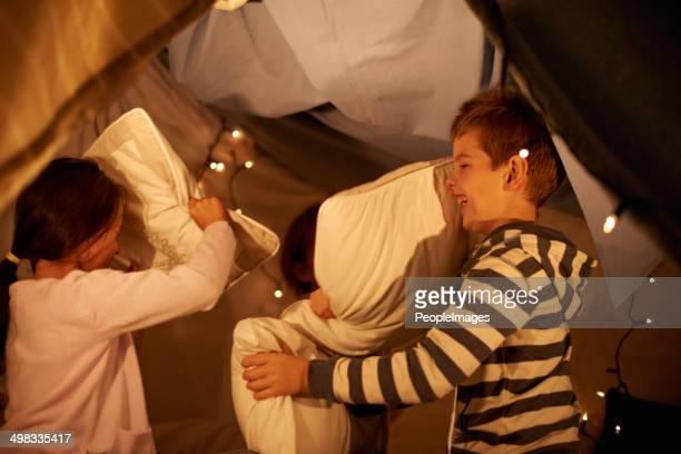 Pillow war!
