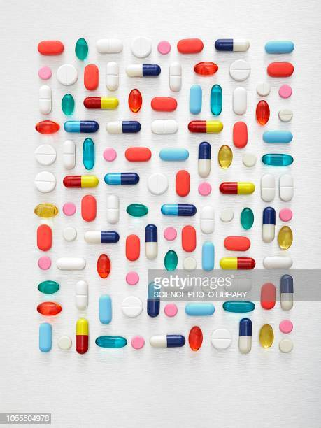 pills and capsules - comprimido - fotografias e filmes do acervo
