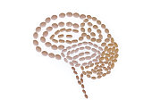 shape human brain created with statin