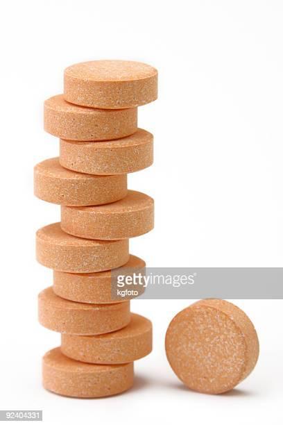 Tabletten, vitamin C