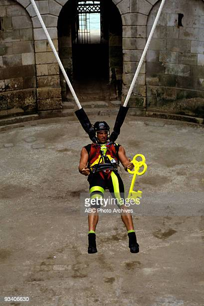 BOYARD pilot 7/91 aired 3/20/93 Cathy Lee Crosby hosted this pilot for a physical contest show set in Fort Boyard built in the 1800's by Napoleon and...